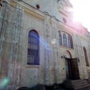 The old Jewish Synagogue used by the Borderlands Foundation