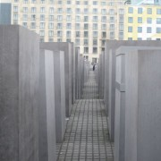 The Monument of the Murdered Jews of Europe in Berlin, a successful example of public reconciliation brought about by open dialogue.