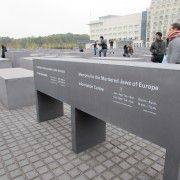 Entrance to Memorial to the Murdered Jews of Europe Museum. (Photo by Katelyn Olsen)