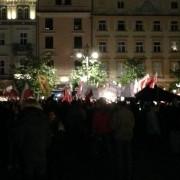 Duda's Rally in Krakow's Rynek