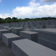 Another view of the Murdered Jews of Europe Memorial
