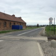 Entrance to Auschwitz-Birkenau