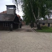 Entrance to Auschwitz I