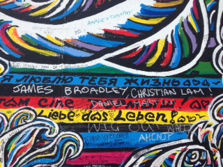 I Love You, Life, A Mural on the East Side Gallery