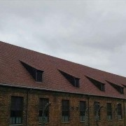 Pictured above is the barracks in Birkenau. Captured by Kylie Britt