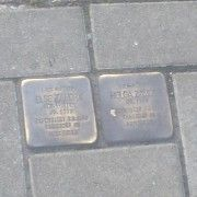 Two of the Stumbling Stones