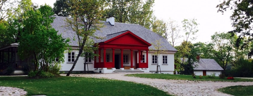 The International Centre of Dialogue, in the renewed Krasnogruda manor house. Taken by Monica Pellerano