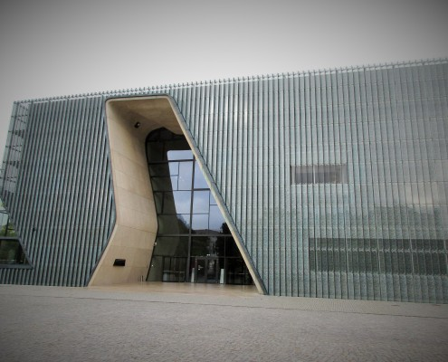 The new Polin Museum in Warsaw