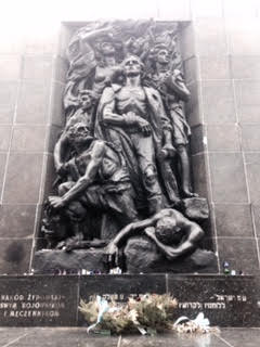 Warsaw Ghetto Uprising Monument. Taken by-Domenca Vera
