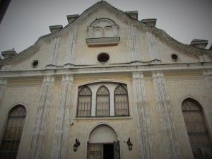 The old Synogogue used by the Borderlands Foundation. Here they help to preserve Jewish culture