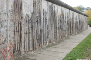 The former Berlin Wall