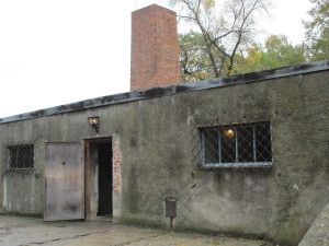 One of the few surviving gas chambers. Also has a cremitorium to burn the bodies, hiding the evidence.