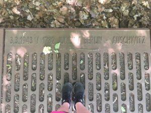 Exhibit 1: Gleis 17, Memorial Platform. May 29th 2017.