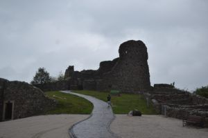 Figure 4: The Devin Castle, previously fought over by various nations and peoples.  (Bratislava, Slovakia) Photo: Gabrielle Marzolf