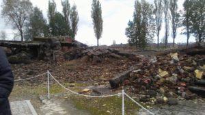 Figure 2: Collapsed Gas Chamber at Auschwitz-Birkenau.