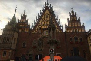Town Hall, Wroclaw, Poland. (Ivan Laryionenka)