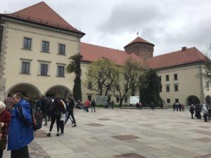 Example of Third Reich architecture added during the German occupation.