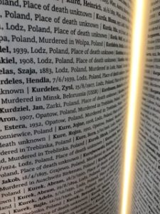 Jan Kurdziel in the Book of Names