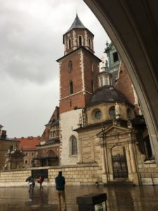 Figure 1. Wawel Castle in 2017, photographed by Gabrielle Marzolf (Krakow, Poland)