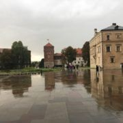 Figure 2. View of Wawel Hill, 2017, photographed by Gabrielle Marzolf (Krakow, Poland)
