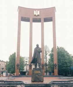 Stepan Bandera's square, Lviv