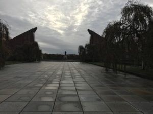 The Soviet Memorial that is also the gravesite of 5000 Soviet Soldiers