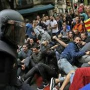 Violence taking over Catalan independence protests