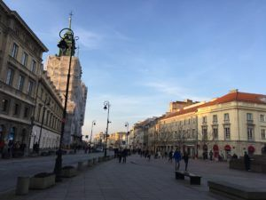 Figure 1. Warsaw Old Town, photographed by Gabrielle Marzolf