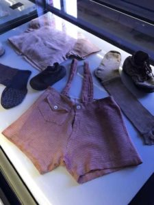 Children's Clothing at Auschwitz