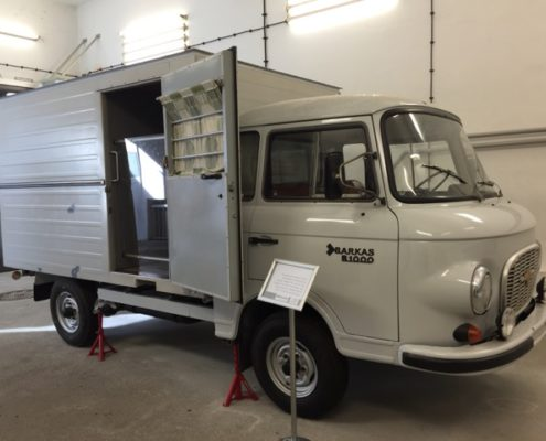 Windowless Van Used to Transport Prisoners