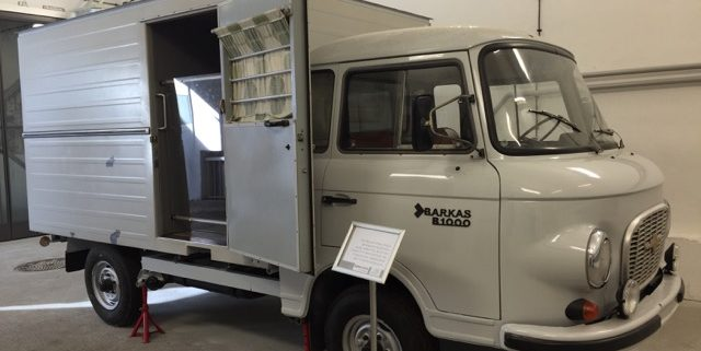 Windowless Van Used to Transport Prisoners