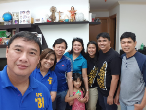 Filipino community in Dubai, bound by the Catholic church. Much like in Europe, the Filipino Catholics in Dubai are religious by tradition rather than by practice.