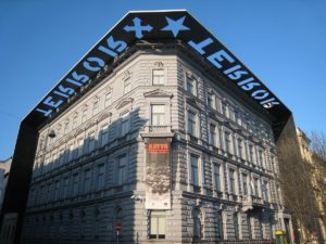 Exterior of the House of Terror