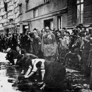Image of Jews Cleaning Vienna Streets (as seen in Center for Documentation of Austrian Resistance)
