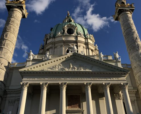 St. Charles Church in Vienna