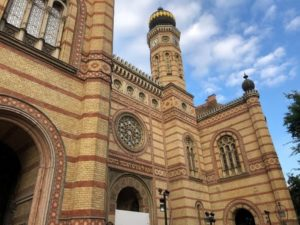 The Dohány Street Synagogue, Budapest, Hungary