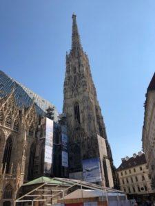 St Stephens Cathedral, Vienna, Austria.