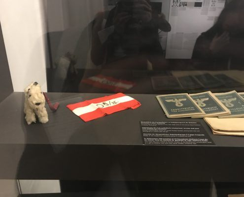 Artifacts at the Documentation Center of Austrian Resistance