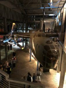 Airplane in the Warsaw Rising Museum.