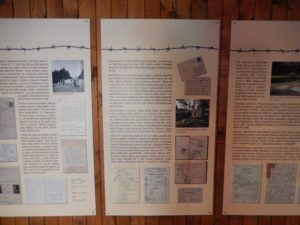 Czech Information Boards at Lety