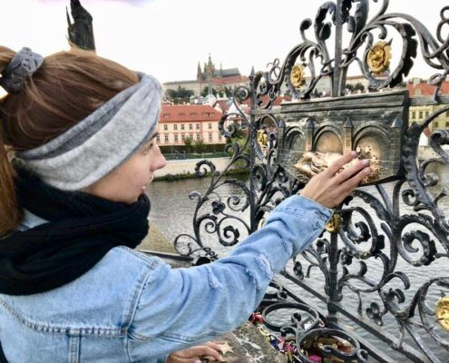 Legend has it that if you touch the five stars on the Charles Bridge plaque and make a wish, whatever you wished for will come true!