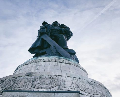 Defeat of Fascism at the Treptower Park