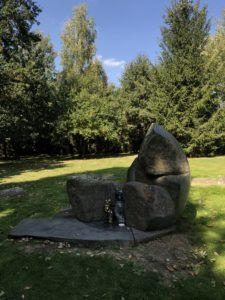 Lety Memorial at Romani Concentration camp in Slovakia.