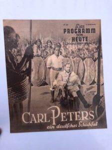 German Colonial Propaganda that celebrates the conquest of Carl Peters
