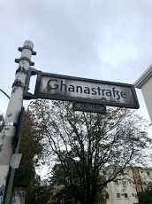 Only post-colonial street in the African Quarter, celebrates the independence of Ghana