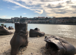 """Shoes on the Danube"""