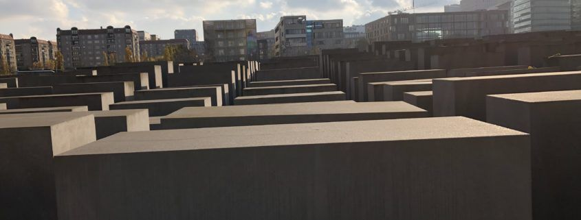2,711 blocks of varying sizes comprise this memorial