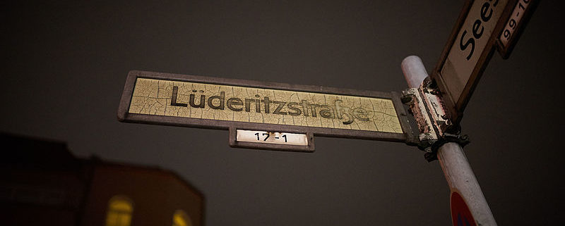 African Street Name in Berlin (by Denis Barthel)