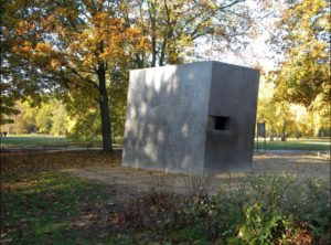 Monument to the Homosexuals Murdered Under National Socialism, photo by Ceasar Gray