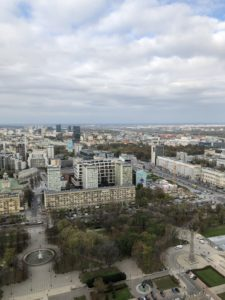 Warsaw today has largely been rebuilt from the destruction it faced during World War II